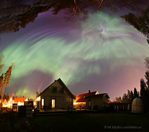 Aurora in the backyard blogg
